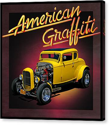 American Graffiti Canvas Print by Christopher McKenzie