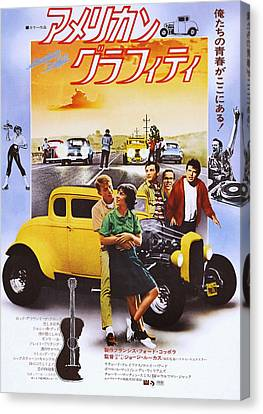 American Graffiti, From Left Ron Canvas Print by Everett