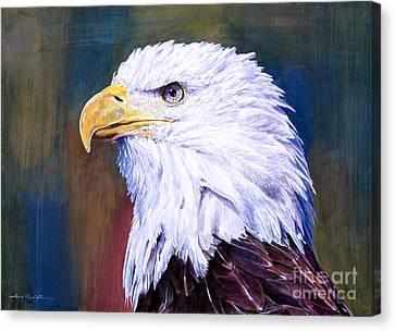 American Guardian Canvas Print by David Lloyd Glover