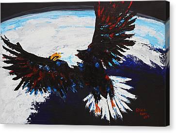 American Guardian Canvas Print