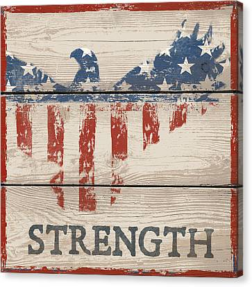 American IIi - Strength Canvas Print
