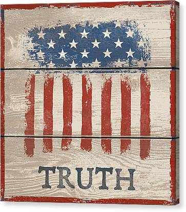 American IIi - Truth Canvas Print
