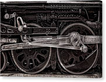 Canvas Print featuring the photograph American Iron by Ken Smith
