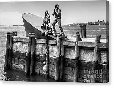 American Merchant Mariners Memorial New York City Canvas Print