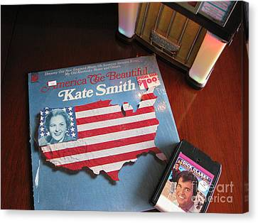 Canvas Print featuring the photograph American Music by Michael Krek