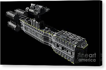 American Orbital Weapons Platform Canvas Print by Rhys Taylor