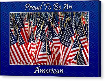 American Pride Canvas Print by Carolyn Marshall