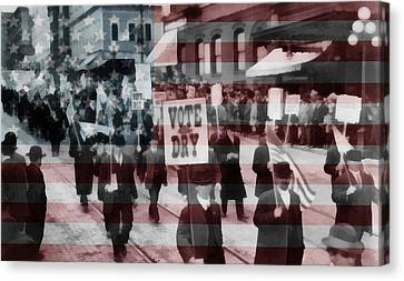 American Prohibition March Canvas Print by Dan Sproul