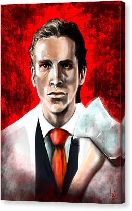 American Psycho Canvas Print by Vinny John Usuriello