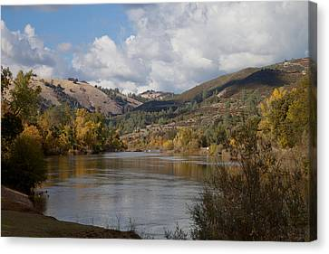 American River Canvas Print
