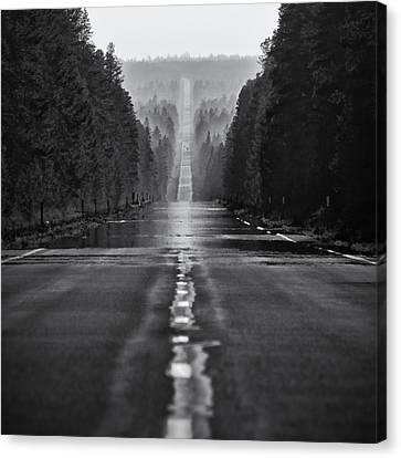 Oregon Canvas Print - American Road Trip by Alexis Birkill