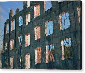 American Ruins Canvas Print by Christopher Reid