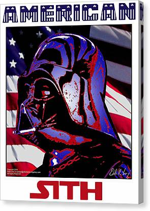 American Sith Canvas Print