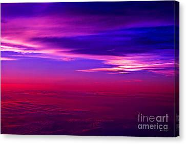 Canvas Print featuring the photograph American Sky by Adam Olsen
