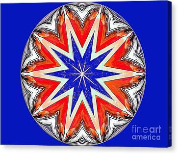 American Star Canvas Print by Annette Allman