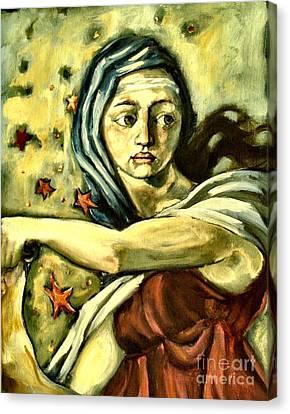 American Sybil Canvas Print by Carrie Joy Byrnes