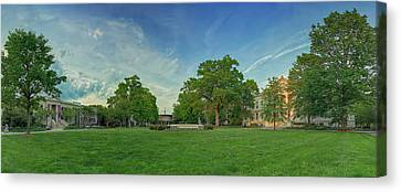 American University Quad Canvas Print