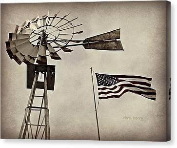 Americana Canvas Print by Chris Berry