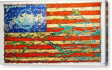 Americana Canvas Print by Emil Bodourov