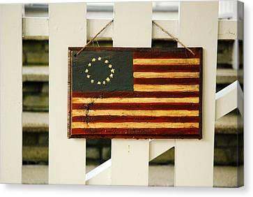 Americana Canvas Print by James Kirkikis