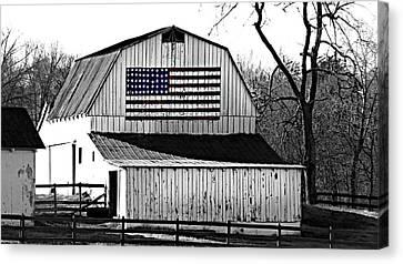 Americana Canvas Print by Trish Clark