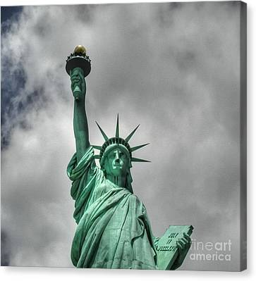 America's Lady Liberty Canvas Print