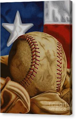 America's Pastime 2 Canvas Print by Cory Still