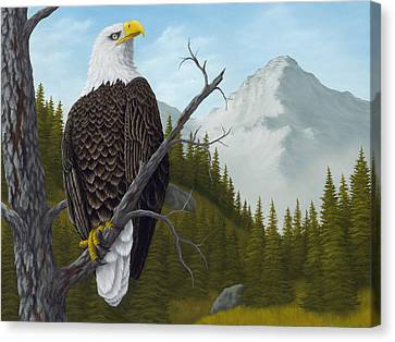 America's Pride Canvas Print by Rick Bainbridge