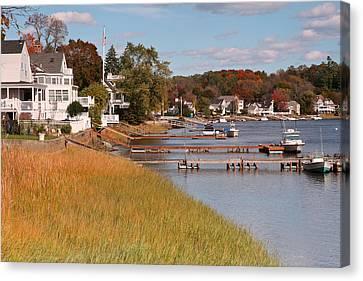 Amesbury Massachusetts Canvas Print by Gail Maloney