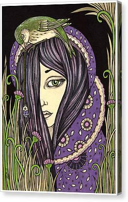 Amethyst Canvas Print by Anita Inverarity