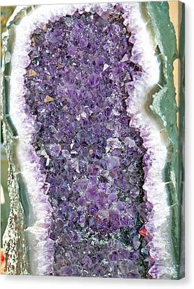 Amethyst Geode Canvas Print