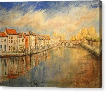 Amiens France Canvas Print
