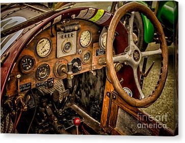 Racing Car Canvas Print - Amilcar Riley Special  by Adrian Evans