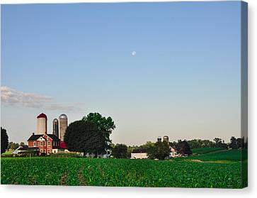 Amish Farm - Lancaster County Canvas Print by Bill Cannon