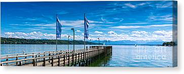 Ammersee - Lake In Bavaria Canvas Print