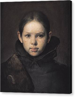 Clothing Canvas Print - Amo by Odd Nerdrum