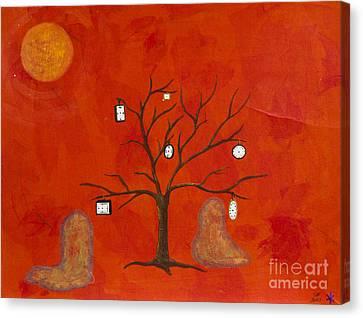 Amoeba Canvas Print