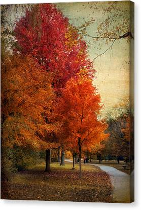 Among The Maples Canvas Print by Jessica Jenney