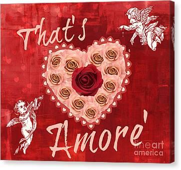 Amore Valentine Canvas Print