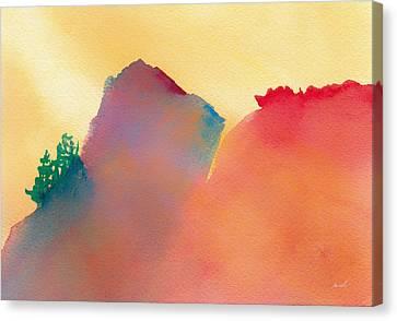 Amorphous 19 Canvas Print by The Art of Marsha Charlebois
