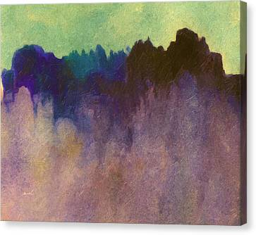 Amorphous 31 Canvas Print by The Art of Marsha Charlebois