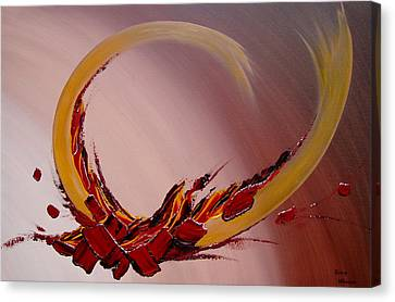 Amour Fou Canvas Print by Thierry Vobmann