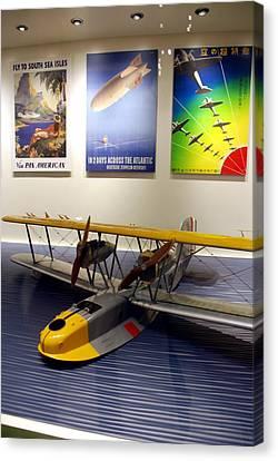 Amphibious Plane And Era Posters Canvas Print