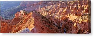 Amphitheater, Cedar Breaks National Canvas Print by Panoramic Images