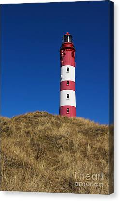 Amrum Lighthouse Canvas Print by Angela Doelling AD DESIGN Photo and PhotoArt