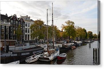 Amstel River Canvas Print by Cheryl Miller