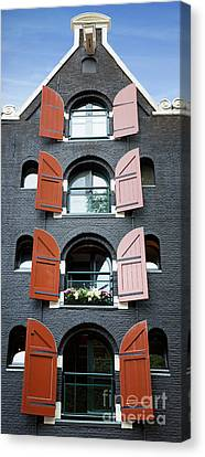 Amsterdam Building Canvas Print