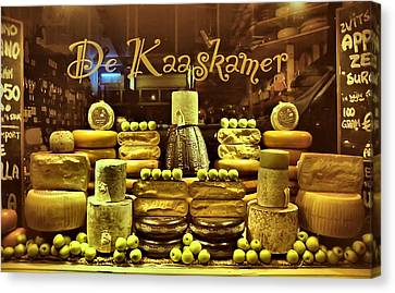 Amsterdam Cheese Shop Canvas Print