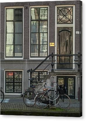 Amsterdam Facade #1 Canvas Print