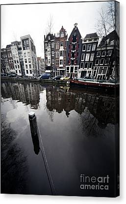 Amsterdam Houses Canvas Print